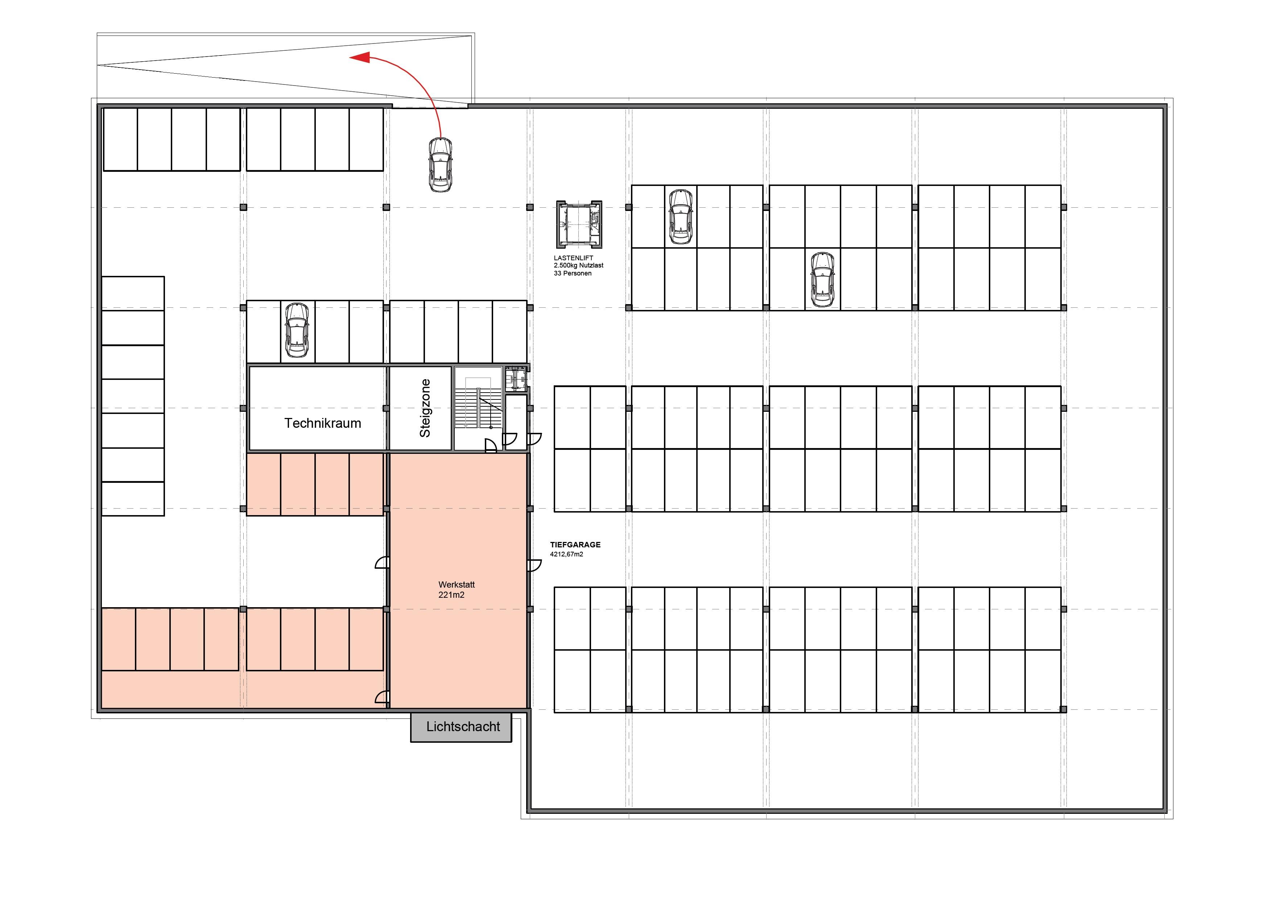 tiefgarage calandapark. Black Bedroom Furniture Sets. Home Design Ideas